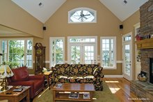 Architectural House Design - Traditional Interior - Family Room Plan #929-910