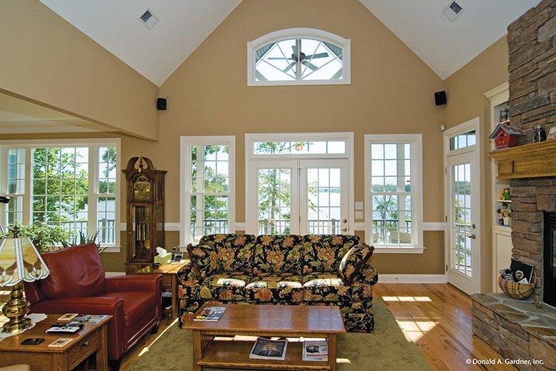 Traditional Interior - Family Room Plan #929-910 - Houseplans.com