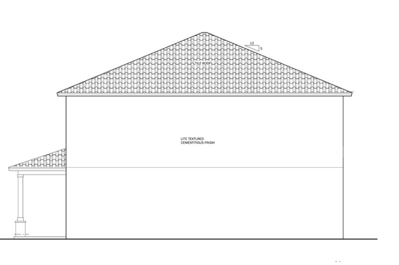 Mediterranean Exterior - Other Elevation Plan #1058-62 - Houseplans.com