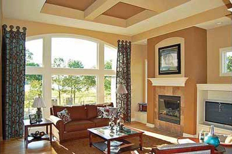 European Interior - Family Room Plan #320-1003 - Houseplans.com