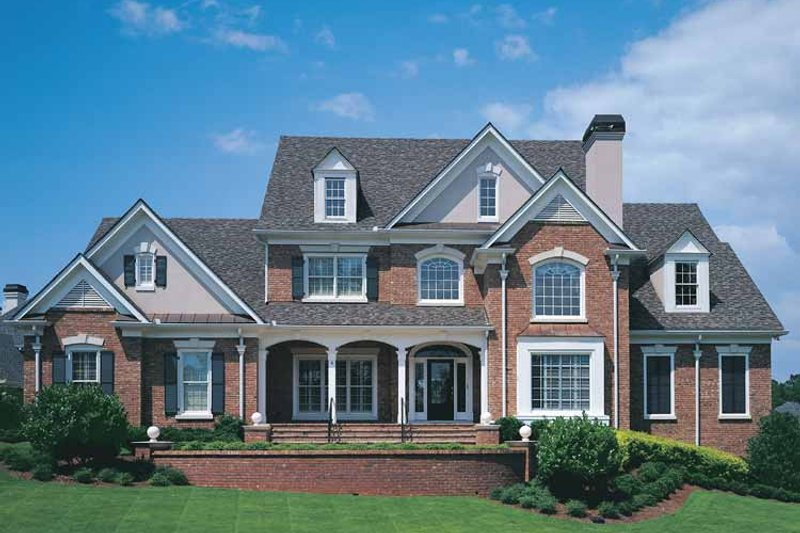 Traditional Exterior - Front Elevation Plan #927-176 - Houseplans.com