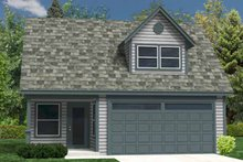 Traditional Exterior - Front Elevation Plan #118-159