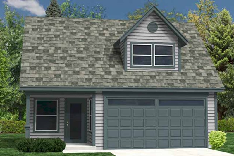 Architectural House Design - Traditional Exterior - Front Elevation Plan #118-159