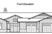 Traditional Style House Plan - 4 Beds 3.5 Baths 3861 Sq/Ft Plan #490-18 Exterior - Other Elevation