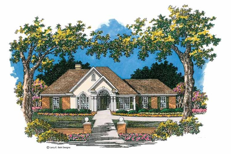 Ranch Exterior - Front Elevation Plan #952-267 - Houseplans.com