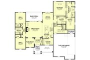 Farmhouse Style House Plan - 3 Beds 2.5 Baths 2358 Sq/Ft Plan #430-195 Floor Plan - Main Floor Plan