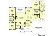 Farmhouse Style House Plan - 3 Beds 2.5 Baths 2358 Sq/Ft Plan #430-195 Floor Plan - Main Floor Plan