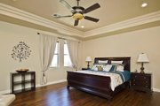 European Style House Plan - 3 Beds 3.5 Baths 3289 Sq/Ft Plan #80-192 Interior - Master Bedroom