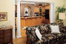 Country Interior - Kitchen Plan #929-153