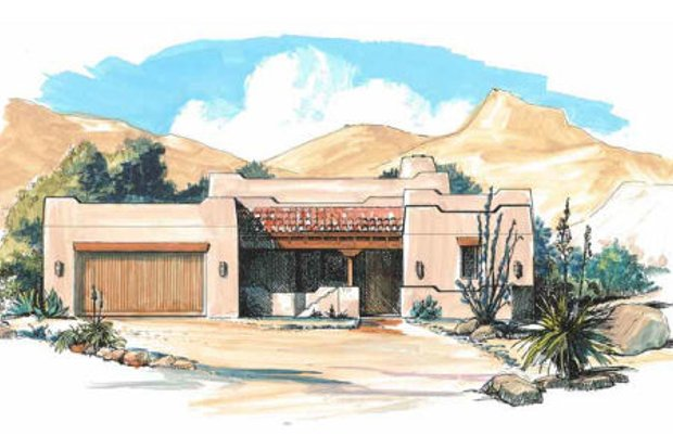 Southwestern House Plans
