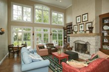 Country Interior - Family Room Plan #57-628