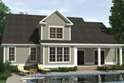 Farmhouse Style House Plan - 4 Beds 3.5 Baths 2683 Sq/Ft Plan #1071-18 Exterior - Rear Elevation