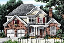House Design - Country Exterior - Front Elevation Plan #927-893