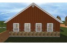 Ranch Floor Plan - Other Floor Plan Plan #1060-23