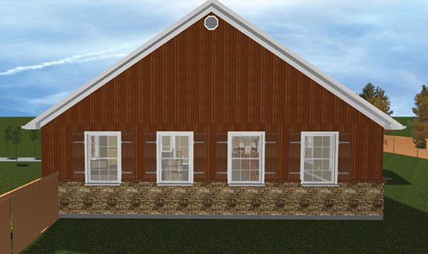 Home Plan - Ranch Floor Plan - Other Floor Plan #1060-23