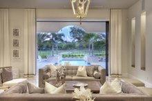 Mediterranean Interior - Family Room Plan #930-444