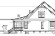 Classical Style House Plan - 3 Beds 2.5 Baths 2950 Sq/Ft Plan #1054-7 Exterior - Other Elevation
