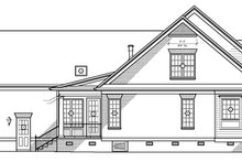Classical Exterior - Other Elevation Plan #1054-7