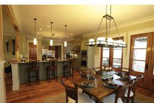 Dream House Plan - Craftsman Interior - Dining Room Plan #37-279