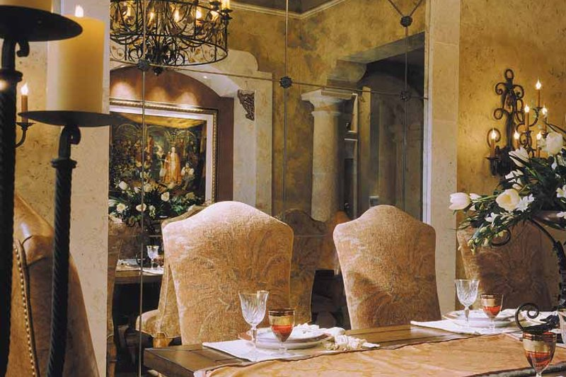Mediterranean Interior - Dining Room Plan #930-325 - Houseplans.com