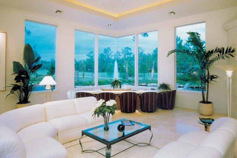 Mediterranean Interior - Family Room Plan #930-109 - Houseplans.com