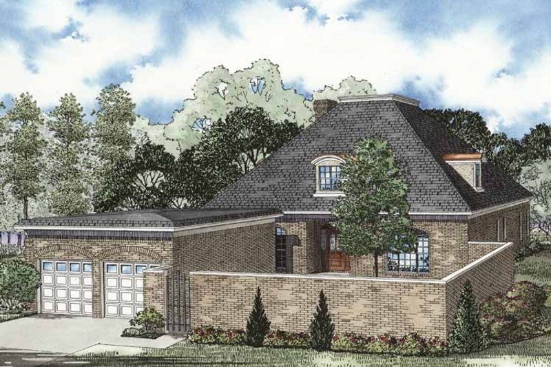 Traditional Exterior - Front Elevation Plan #17-3267 - Houseplans.com