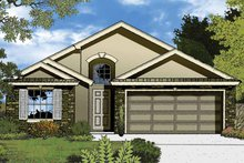 House Plan Design - Country Exterior - Front Elevation Plan #1015-36