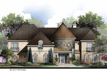 Country Exterior - Front Elevation Plan #952-284