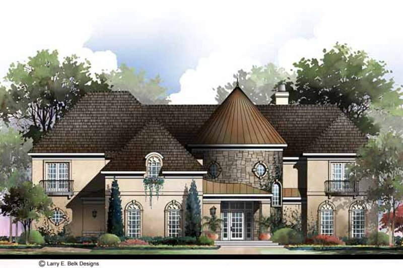 House Plan Design - Country Exterior - Front Elevation Plan #952-284