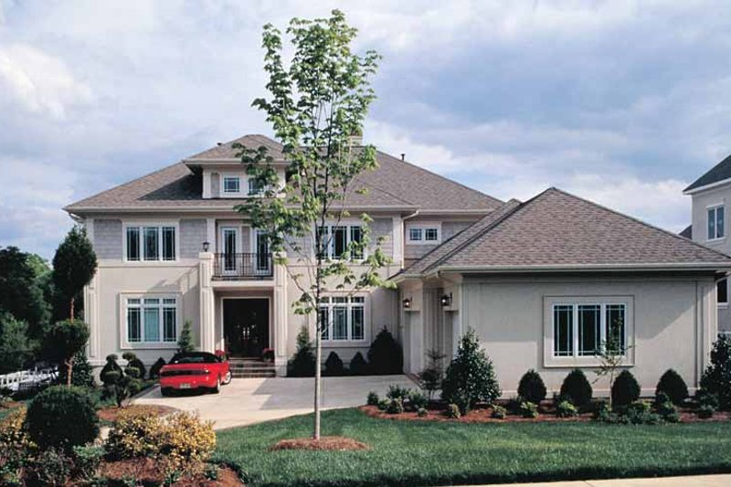 House Plan Design - Prairie Exterior - Front Elevation Plan #453-184