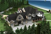 Traditional Style House Plan - 4 Beds 6 Baths 7900 Sq/Ft Plan #132-216 Exterior - Other Elevation