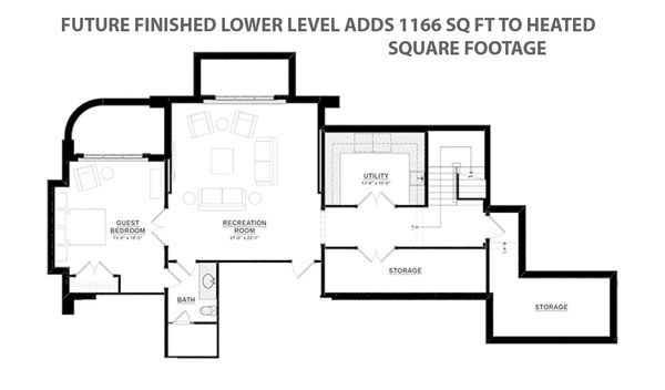 Tudor Style House Plan - 5 Beds 5 Baths 7398 Sq/Ft Plan #928-275 Floor Plan - Other Floor Plan