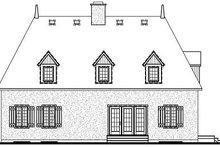 Dream House Plan - European Exterior - Rear Elevation Plan #23-713