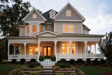 Home Plan - Victorian Exterior - Front Elevation Plan #410-104