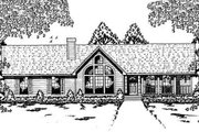 Contemporary Style House Plan - 4 Beds 2 Baths 1911 Sq/Ft Plan #42-132