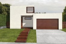 House Design - Modern Exterior - Front Elevation Plan #497-22