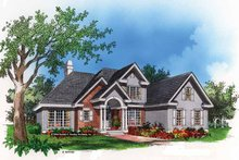 Traditional Exterior - Front Elevation Plan #929-493