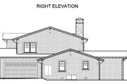 Traditional Style House Plan - 4 Beds 3.5 Baths 3364 Sq/Ft Plan #490-22 Exterior - Other Elevation