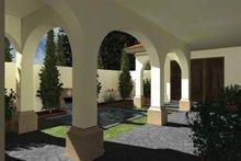 Home Plan Design - Mediterranean Exterior - Rear Elevation Plan #930-435