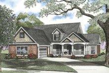 Craftsman Exterior - Front Elevation Plan #17-2696