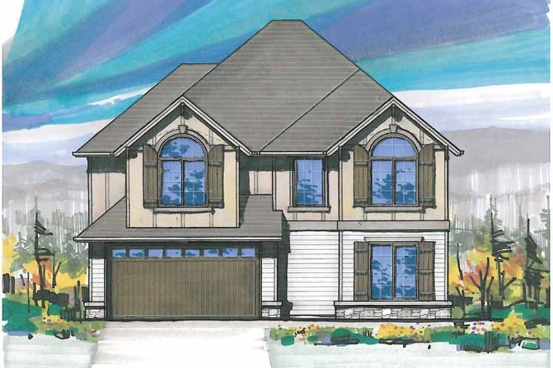 Country Exterior - Front Elevation Plan #509-216 - Houseplans.com