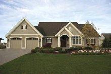 Architectural House Design - European Exterior - Front Elevation Plan #928-108