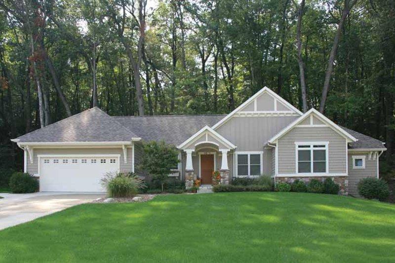 House Plan Design - Craftsman Exterior - Front Elevation Plan #928-150