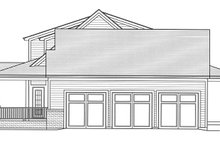 Dream House Plan - Traditional Exterior - Other Elevation Plan #46-852