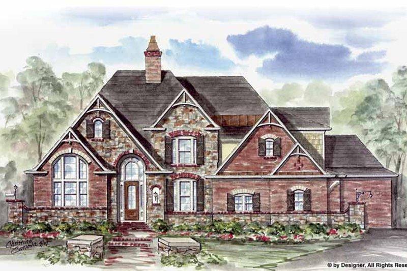 Home Plan - European Exterior - Front Elevation Plan #54-276