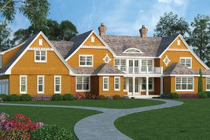 Dream House Plan - Traditional Exterior - Front Elevation Plan #314-295