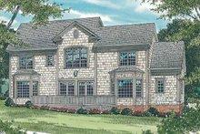 House Plan Design - Victorian Exterior - Rear Elevation Plan #453-174
