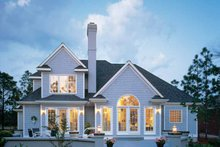 Dream House Plan - Traditional Exterior - Rear Elevation Plan #929-110