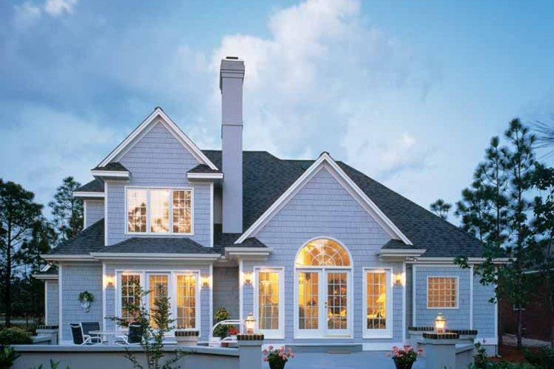 Traditional Exterior - Rear Elevation Plan #929-110 - Houseplans.com