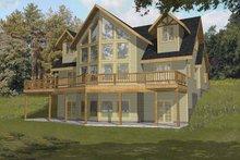 House Plan Design - Mediterranean Exterior - Front Elevation Plan #117-813